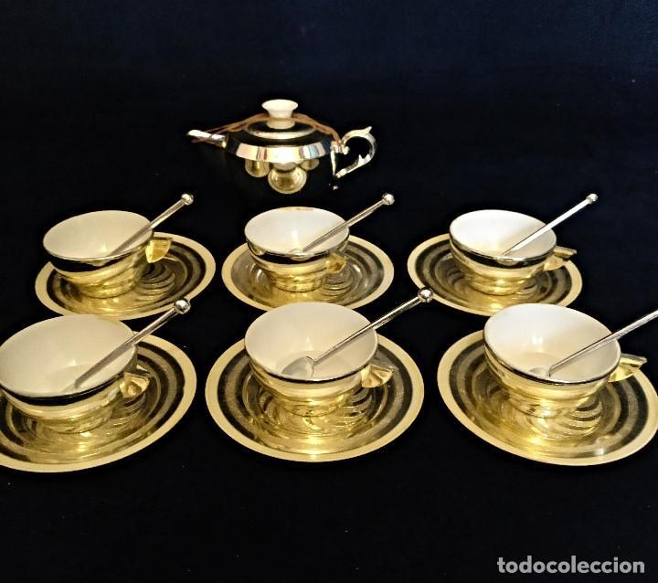 Casas de Muñecas: Cacharritos o juego de cafe de juguete de los años 60. - Foto 2 - 130247354