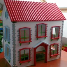 Casas de Muñecas: GRAN CASA DE MUÑECAS FABRICADA A MANO EN LOS AÑOS 70. Lote 131490058