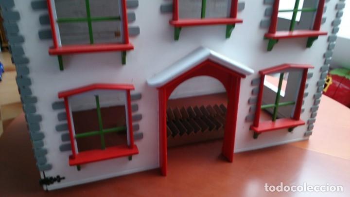 Casas de Muñecas: Gran casa de muñecas fabricada a mano en los años 70 - Foto 12 - 131490058