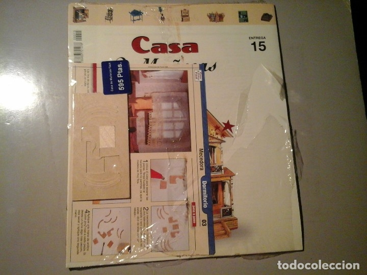 CASA DE MUÑECAS FÁCIL. ENTREGA 15. MECEDORA. EDICIONES DEL PRADO 1998.NUEVO. PRECINTADO. (Juguetes - Casas de Muñecas, mobiliarios y complementos)
