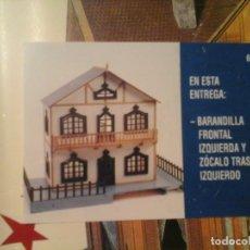 Casas de Muñecas: CASA DE MUÑECAS FÁCIL. 80 ENTREGAS (5 VOLÚMENES COMPLETO + CASA). EDICIONES DEL PRADO 1998. RARO... Lote 133175234