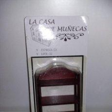 Casas de Muñecas: MUEBLE LIBRERÍA MADERA COLOR CEREZO DE COLECCION ANTIGUA CASA DE MUÑECAS ESTILO ANDALUZA ALTAYA. Lote 133416482