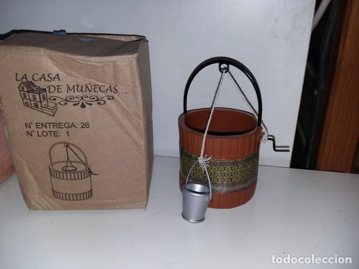 POZO CON CUBO PATIO ANDALUZ DE COLECCION ANTIGUA CASA DE MUÑECAS ESTILO ANDALUZA ALTAYA (Juguetes - Casas de Muñecas, mobiliarios y complementos)
