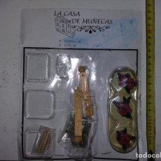 Doll houses - lote macetas con plantas pilares etc de coleccion antigua casa de muñecas estilo andaluza altaya - 133545542