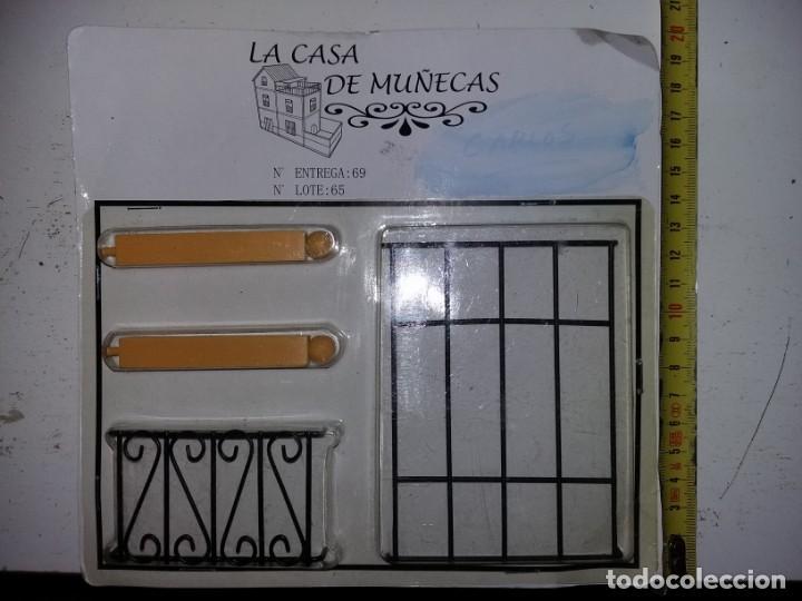 PILARES REJAS DE VENTANAS HIERRO FORJA DE COLECCIÓN ANTIGUA CASA DE MUÑECAS ESTILO ANDALUZA ALTAYA (Juguetes - Casas de Muñecas, mobiliarios y complementos)