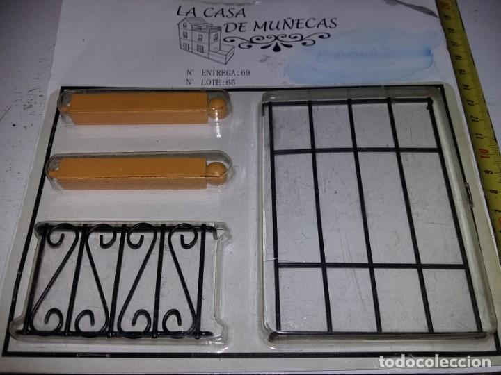 Casas de Muñecas: pilares rejas de ventanas hierro forja de colección antigua casa de muñecas estilo andaluza altaya - Foto 2 - 133546126