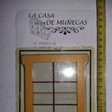 Casas de Muñecas: VENTANA CON CORTINAS Y REJA DE COLECCION ANTIGUA CASA DE MUÑECAS ESTILO ANDALUZA ALTAYA. Lote 133546370