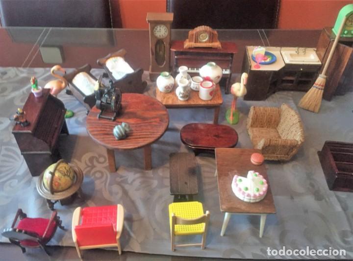 Casas de Muñecas: GRAN LOTE DE MUEBLES Y ACCESORIOS - Foto 3 - 135517754