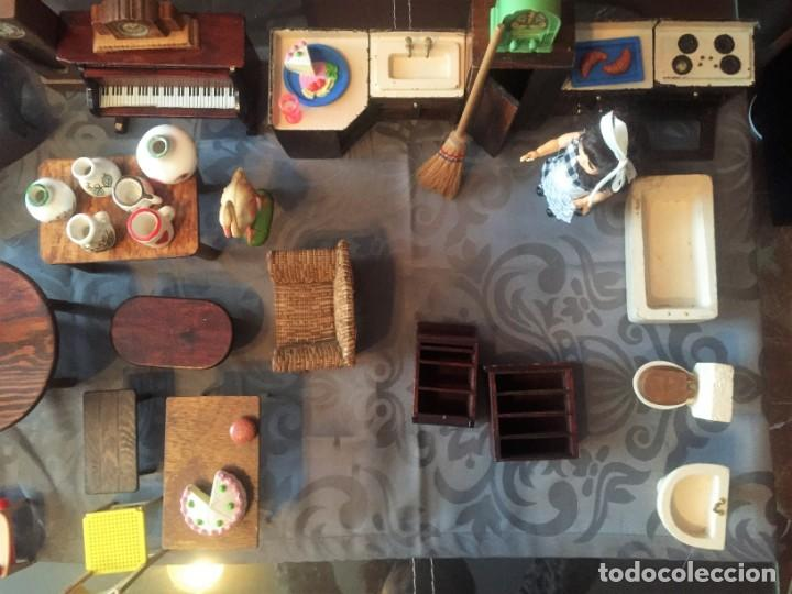 Casas de Muñecas: GRAN LOTE DE MUEBLES Y ACCESORIOS - Foto 7 - 135517754