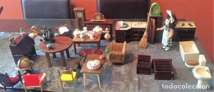 Casas de Muñecas: GRAN LOTE DE MUEBLES Y ACCESORIOS - Foto 8 - 135517754