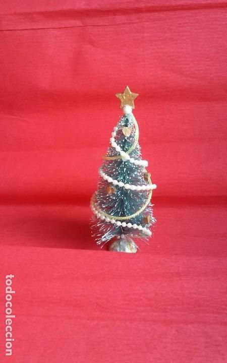 Arbol De Navidad Artesanal En Miniatura Para Ca Comprar Casas De - Arbol-de-navidad-artesanal