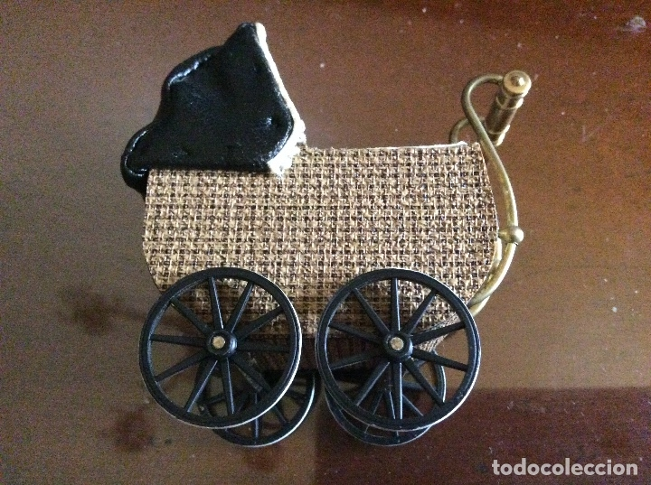 Casas de Muñecas: Carrito de juguete escala 1:12 para casa de muñecas. - Foto 2 - 136198638