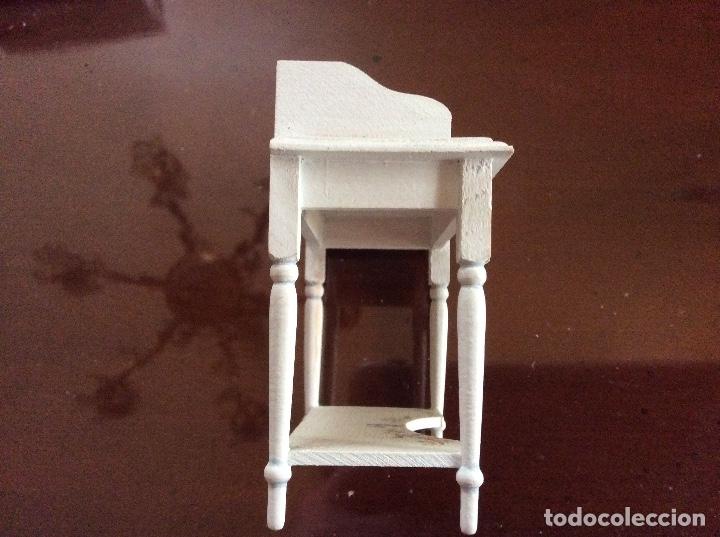 Casas de Muñecas: Mesita con silla escala 1:12 con dibujos a mano de Beatrix potter. - Foto 5 - 136276662
