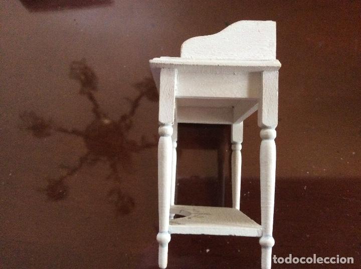 Casas de Muñecas: Mesita con silla escala 1:12 con dibujos a mano de Beatrix potter. - Foto 6 - 136276662
