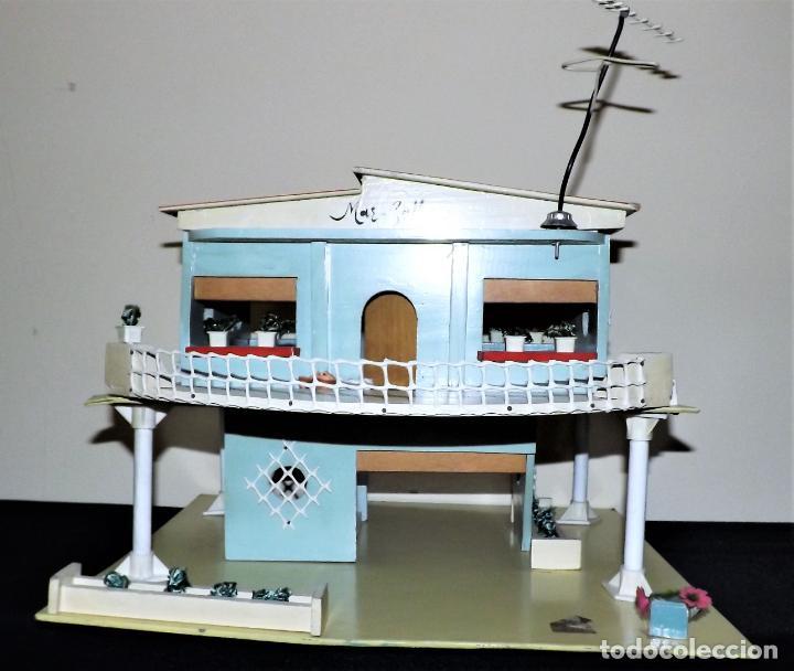 Casas de Muñecas: Casa chalet de muñecas. Denia década de lo 60 - Foto 2 - 136431022