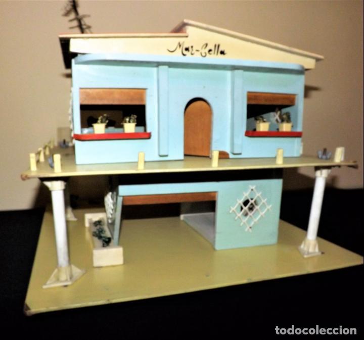 Casas de Muñecas: Casa chalet de muñecas. Denia década de lo 60 - Foto 3 - 136431022