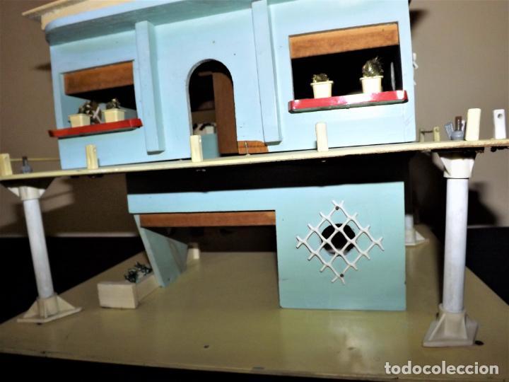 Casas de Muñecas: Casa chalet de muñecas. Denia década de lo 60 - Foto 4 - 136431022