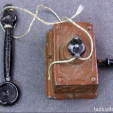 Casas de Muñecas: TELÉFONO ESTAÑO ALEMÁN PARA CASA MUÑECAS PP S XX. Lote 141801798