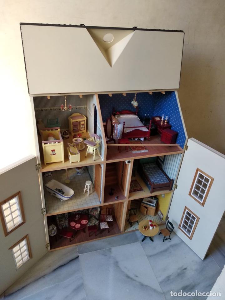 Casas de Muñecas: Magnifica casa de muñecas con todo lujo de detalles, solo recogida en malaga - Foto 2 - 141912046