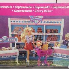 Casas de Muñecas: SUPERMERCADO DE BARBIE AÑO 1997. SUPERMARKET SHOPPING FUN SUPER MERCADO. Lote 141963146