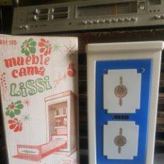 Casas de Muñecas: MUEBLE CAMA LISSI DE GUILLÉN Y VICEDO. Lote 143197933