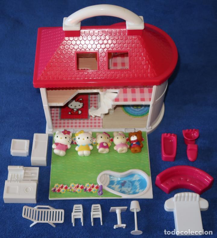 Casas de Muñecas: casa maletin Hello Kitty - Con luz - Hello Kitty - Foto 2 - 148552154