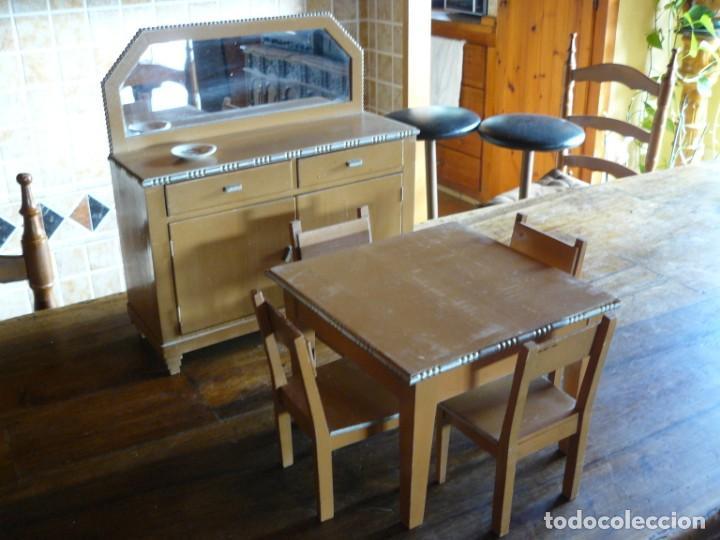 precioso mobiliario para jugar- muebles de come - Comprar Casas de ...