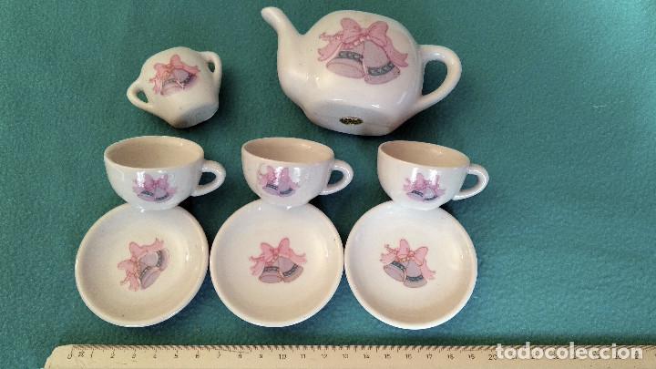 Casas de Muñecas: Juego de porcelana café o té en miniatura, para casa de muñecas. - Foto 3 - 151593382