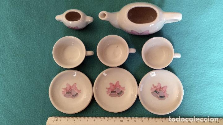 Casas de Muñecas: Juego de porcelana café o té en miniatura, para casa de muñecas. - Foto 4 - 151593382