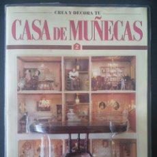 Casas de Muñecas: CTC - GRAN MESA SALON - CREA Y DECORA TU CASA DE MUÑECAS - Nº 2 - PLANETA AGOSTINI AÑOS 90 - NUEVO. Lote 196056261
