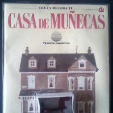 Casas de Muñecas: CTC - CABALLITO DE MADERA BALANCIN - CREA Y DECORA TU CASA DE MUÑECAS -Nº 42 - PLANETA AGOSTINI. Lote 155036702
