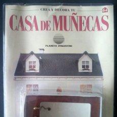 Casas de Muñecas: CTC - BAÑERA - CREA Y DECORA TU CASA DE MUÑECAS - Nº 64 - PLANETA AGOSTINI AÑOS 90 - NUEVO. Lote 155036766