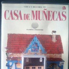 Casas de Muñecas: CTC - MINIATURA CASITA - CREA Y DECORA TU CASA DE MUÑECAS - Nº 81 - PLANETA AGOSTINI AÑOS 90 - NUEVO. Lote 208413867