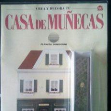 Casas de Muñecas: CTC - JARDINERA - CREA Y DECORA TU CASA DE MUÑECAS - Nº 107 - PLANETA AGOSTINI AÑOS 90 - NUEVO. Lote 208414201