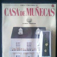 Casas de Muñecas: CTC - JARDINERA - CREA Y DECORA TU CASA DE MUÑECAS - Nº 117 - PLANETA AGOSTINI AÑOS 90 - NUEVO. Lote 208413971