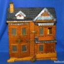 Casas de Muñecas: ** BONITA CASA DE MUÑECAS ARTESANAL AÑOS 50 **. Lote 159213925