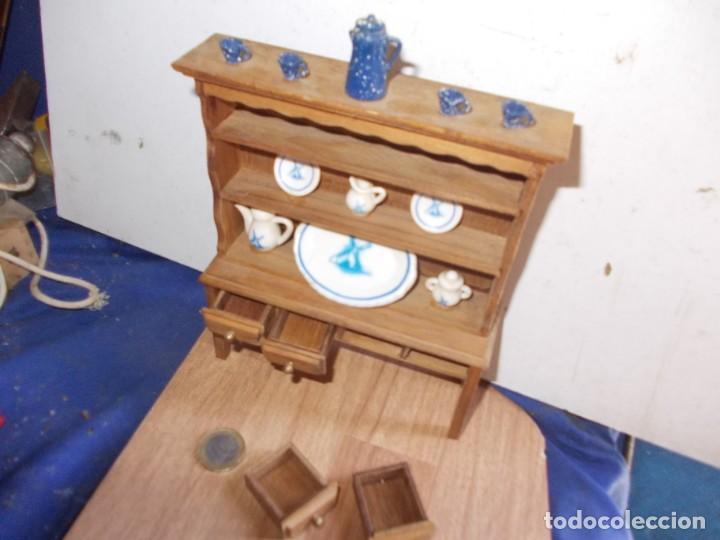 Casas de Muñecas: mueble de cocina de casita de muñecas - Foto 3 - 155871754