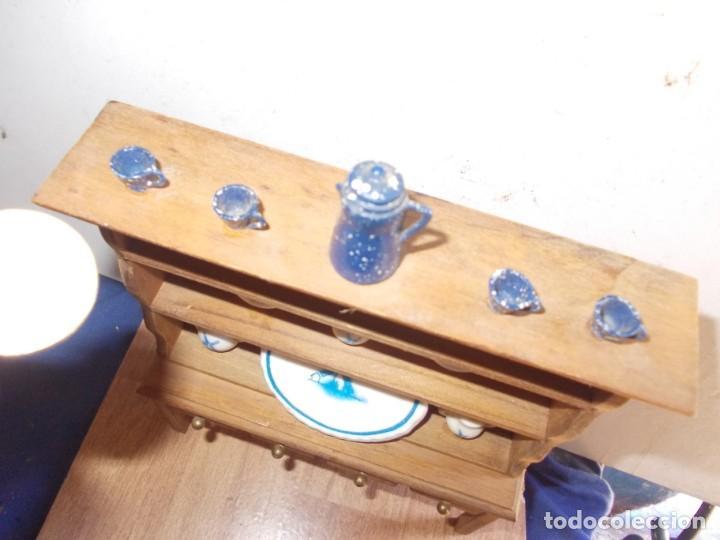 Casas de Muñecas: mueble de cocina de casita de muñecas - Foto 5 - 155871754