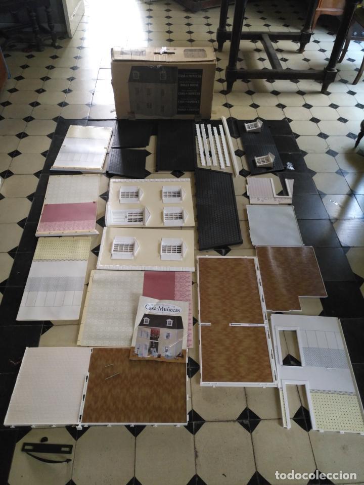 OPORTUNIDAD - CREA Y DECORA TU GRAN CASA DE MUÑECAS DOLLHOUSE COLLECTORS . ORIGINAL . VER FOTOS (Juguetes - Casas de Muñecas, mobiliarios y complementos)