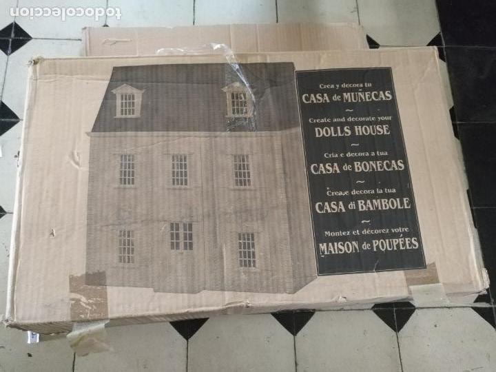 Casas de Muñecas: oportunidad - crea y decora tu gran casa de muñecas dollhouse collectors . original . ver fotos - Foto 48 - 208101583