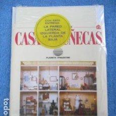 Casas de Muñecas: CREA Y DECORA TU CASA DE MUÑECAS. 13. LA PARED LATERAL IZQUIERDA DE LA PLANTA BAJA / NUEVO. Lote 158325722