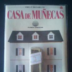 Casas de Muñecas: CTC - MANTEL Y UNA REPISA - CREA Y DECORA TU CASA DE MUÑECAS Nº 114 - PLANETA AGOSTINI AÑOS 90. Lote 208414285