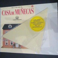 Casas de Muñecas: CTC - PARED LATERAL IZDA DE LA BUHARDILLA - CREA Y DECORA TU CASA DE MUÑECAS Nº 51 -PLANETA AGOSTINI. Lote 159574810