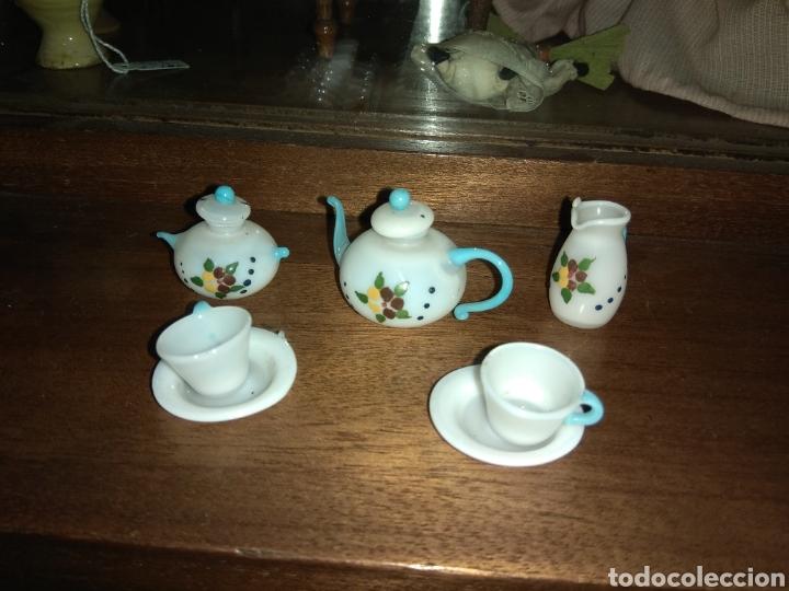 Casas de Muñecas: Juego de Café o Té de Porcelana - Casa de Muñecas - - Foto 2 - 160648346