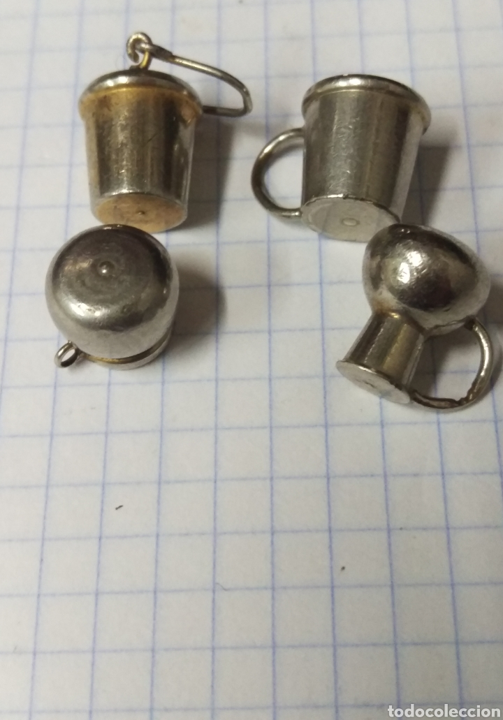 Casas de Muñecas: Lote de miniaturas metalicas ideal casa de muñecas - Foto 3 - 160931622