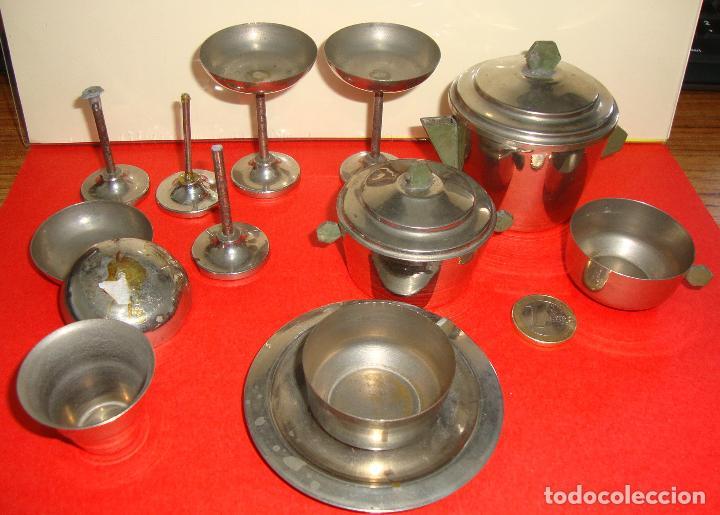 (TC-124) LOTE DE 6 PIEZAS METALICAS CASA MUÑECAS RARAS (Juguetes - Casas de Muñecas, mobiliarios y complementos)