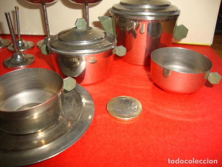 Casas de Muñecas: (TC-124) LOTE DE 6 PIEZAS METALICAS CASA MUÑECAS RARAS - Foto 2 - 163461078