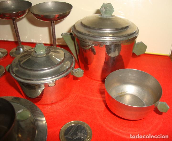 Casas de Muñecas: (TC-124) LOTE DE 6 PIEZAS METALICAS CASA MUÑECAS RARAS - Foto 3 - 163461078