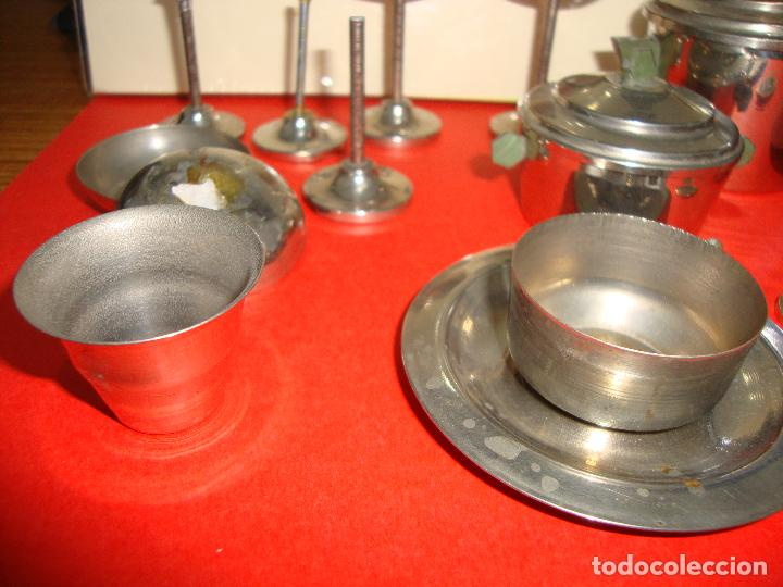 Casas de Muñecas: (TC-205/19) LOTE DE 6 PIEZAS METALICAS CASA MUÑECAS RARAS - Foto 4 - 163461078