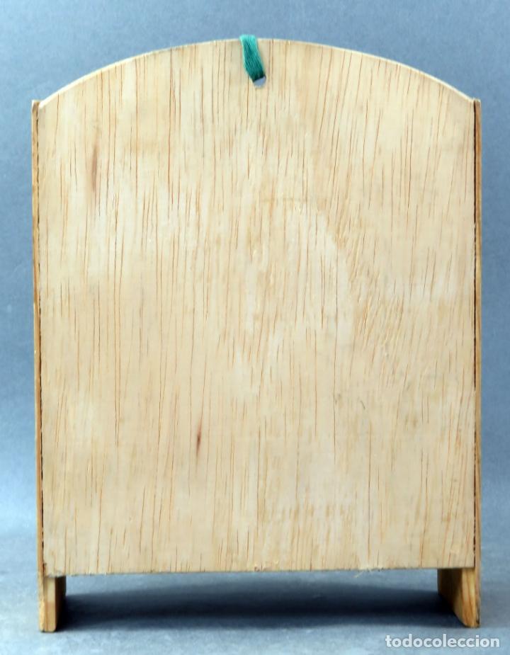 Casas de Muñecas: Estantería para casa muñecas madera años 60 - Foto 3 - 165352334